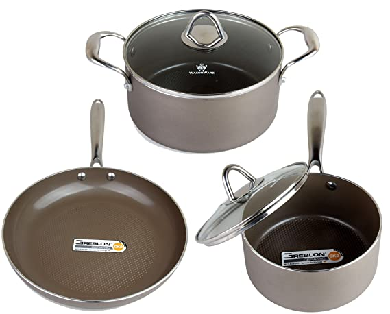 Review WaxonWare Hive Nonstick Cookware