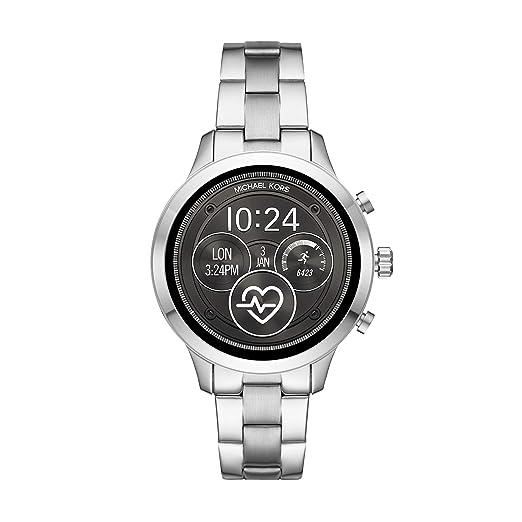 dd96641cdc4 Michael Kors Smartwatch Donna con Cinturino in Acciaio Inox MKT5044:  Amazon.it: Orologi