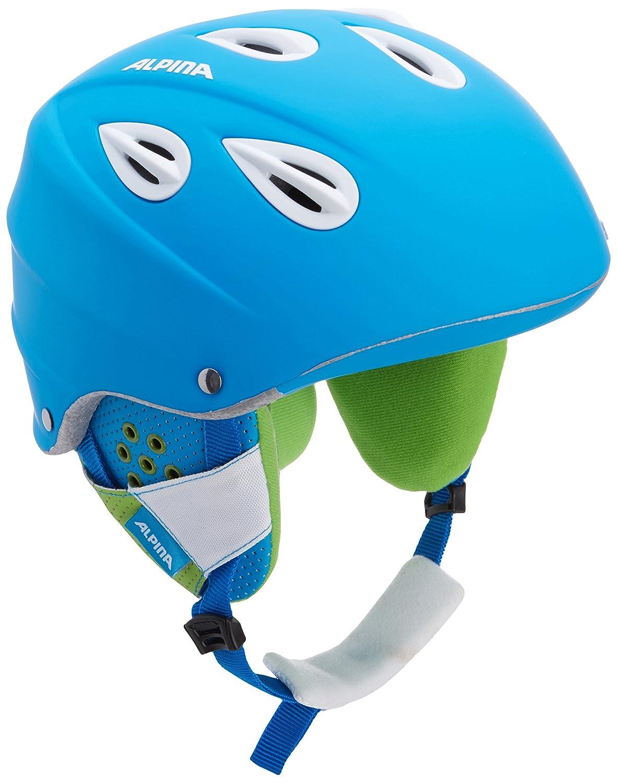 54 57 cm 9036281 Blu ALPINA Casco da sci Grap Blue Matt