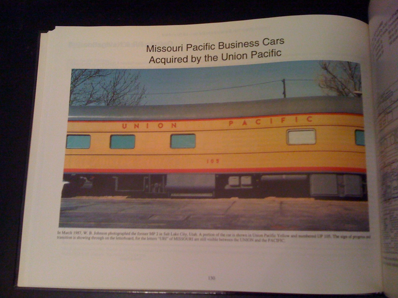 Union Pacific Business Cars 1870 1991 Including Inspection And