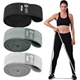 Te-Rich Long Resistance Bands, Fabric Pull Up Assistance Bands 3 Pack, Thick Cloth Stretch Bands for Exercise, Fitness Loop B