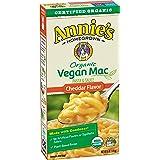 Annie's Organic Vegan Mac Cheddar Flavor Pasta and Sauce, 6 oz