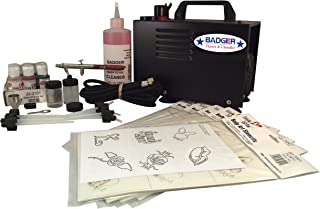 product image for Badger Air-Brush Co. 314-BAWC Airbrush Temporary Tattoo/Body Art System with Compressor