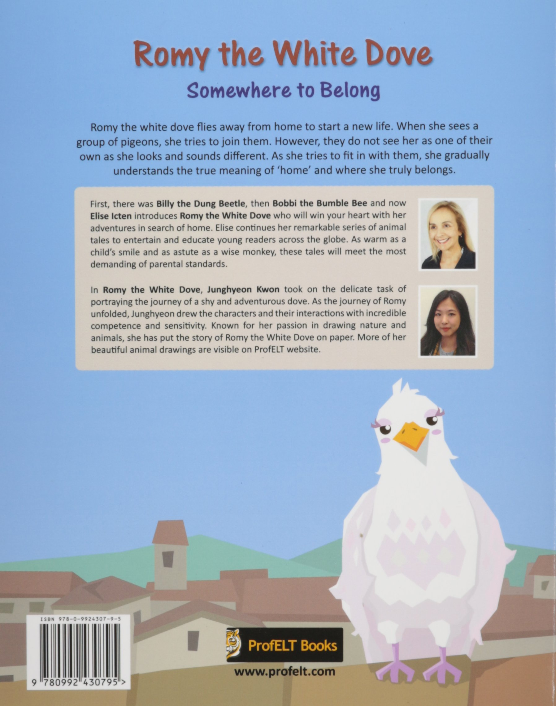 Buy Romy the White Dove: Somewhere to Belong Book Online at