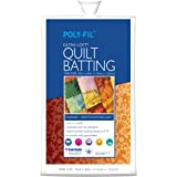 Fairfield Poly-Fil Extra-Loft White Quilt Batting, Crib Size, 45-Inch by 60-Inch, 1 Batting