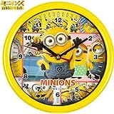ミニオンズ 掛け時計 クロック グッズ インテリア ポスター 腕時計 時計 ミニオン 壁掛け時計 イエロー