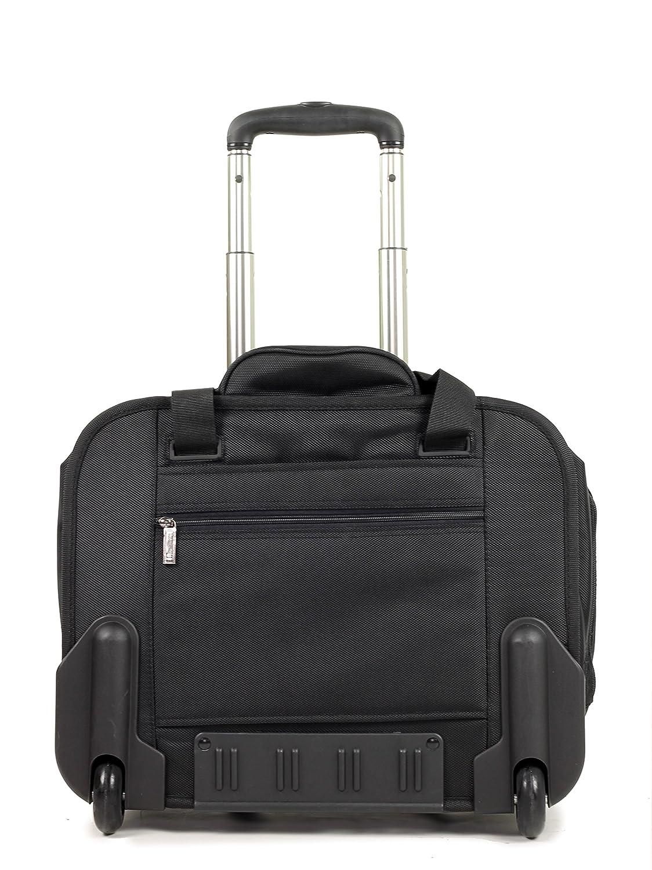 516ecbdacc1c Cellini Laptop Trolley Cabin Bag   Business Case on Wheels  Amazon.co.uk   Luggage