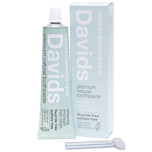 best fluoride free whitening toothpaste