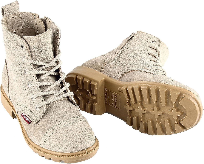 New Handmade Leather Men Shoes Fashion Design Lace Up High Top Men Shoes Zipper