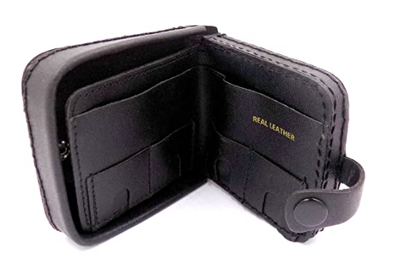 efb261496753 New Mens Leather Coin Change Notes Tray Purse, Mens Coin Wallet