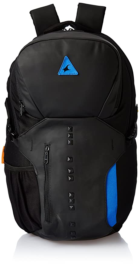 4d08f0e9c73c Fastrack 27 Ltrs Black Casual Backpack (A0616NBK01)  Amazon.in  Bags ...