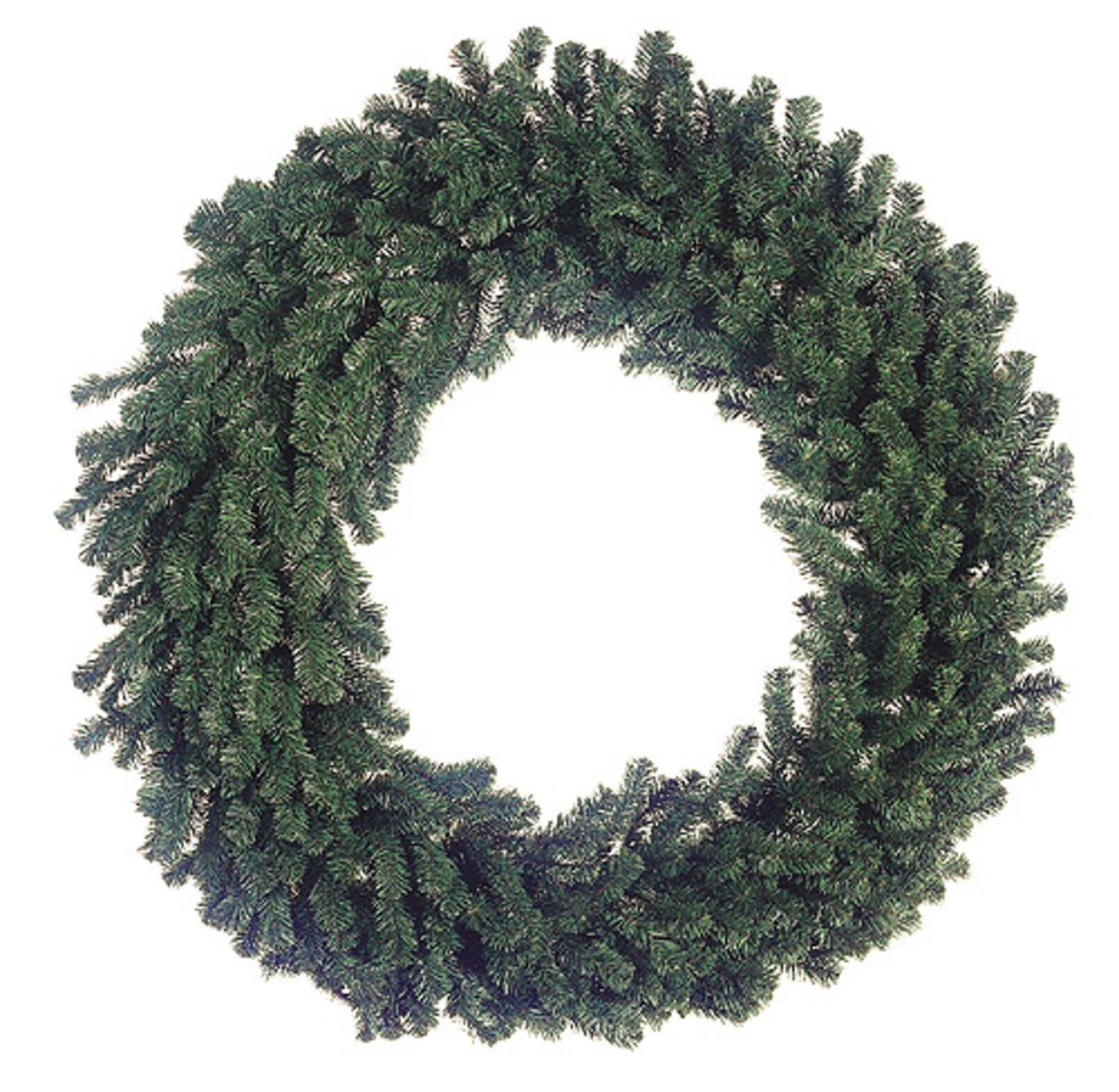 Allstate 60'' Deluxe Windsor Pine Artificial Christmas Wreath - Unlit