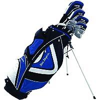 Ben Sayers Men's M15 Right Hand Plus 1 Regular Stand Bag - Blue/Black