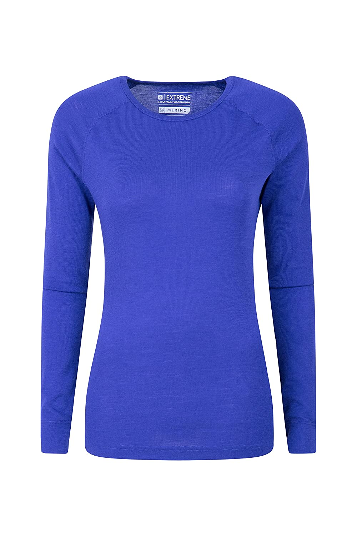 Mountain Warehouse Merino Womens Top - Thermal Ladies T Shirt