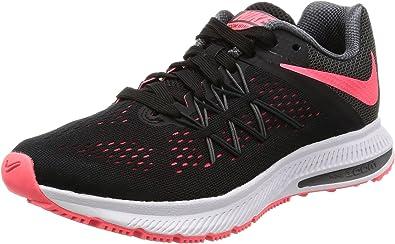 Nike Wmns Zoom Winflo 3, Zapatillas de Trail Running para Mujer, Negro (Black/Hot Punch/Dark Grey/White 010), 42.5 EU: Amazon.es: Zapatos y complementos
