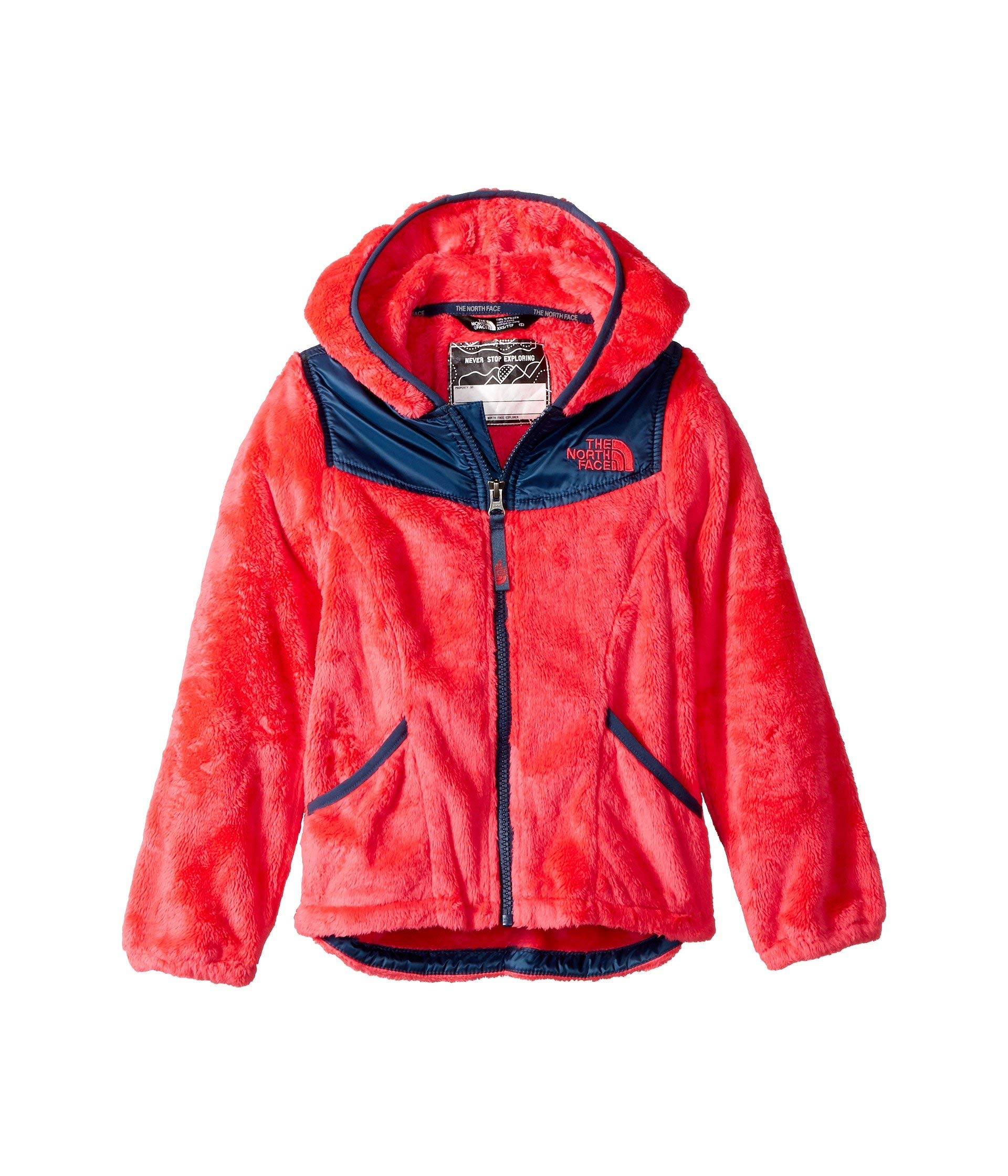 The North Face Girl's OSO Hoodie - Atomic Pink - XXS
