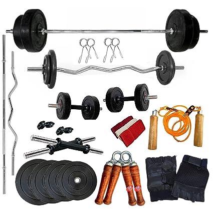 Image result for Bodyfit Total Gym Kit Combo 20Kg Home Gym,Se