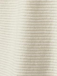 Linen Cotton Garter Stitch Crewneck Sweater 11-15-1020-103: White