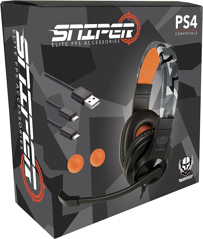 Indeca - Kit Starter Pack Sniper 2018 (PS4): Amazon.es: Videojuegos
