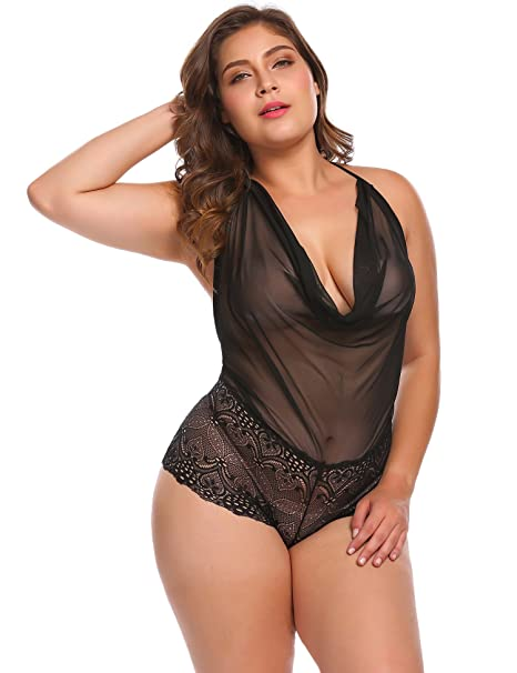 Sexy black plus size women