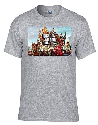 zagorka_de GTA V GTA 5 Grand Theft Auto 5 Rockstar Jogos Games Fan T-Shirt