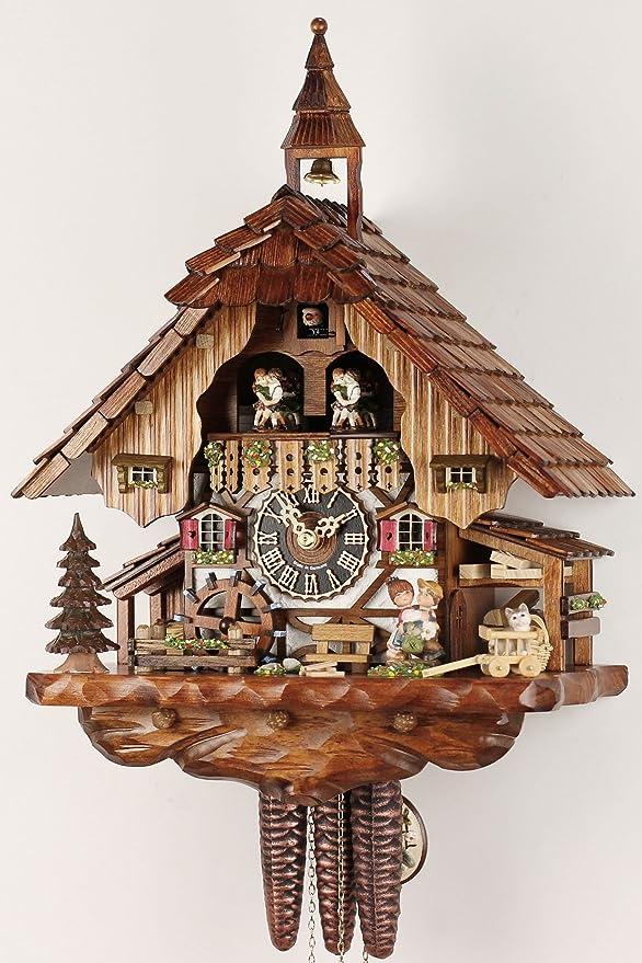 Selva La Uhrenfabrik De Madera Reloj Kammerer Original Negra wZlTPkiOXu