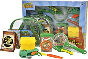 Nature Bound Kids Nature Explorer Backpack Kit for Outdoor Exploration, Camping, Hiking, and Adventure (Boys and Girls Ages 3 +)