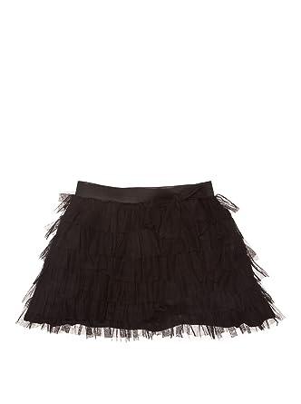 New Caro Falda Volante Tul Negro 8 años: Amazon.es: Ropa y accesorios