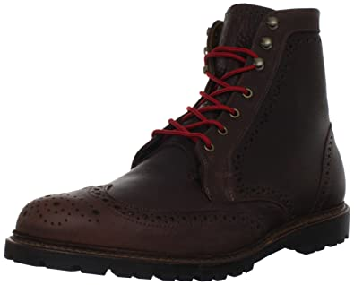 2e5119dd8 Allen Edmonds Men's Long Branch Lace-Up Boot,Dark Brown Grain Leather,7