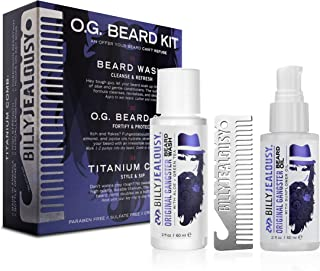 product image for Billy Jealousy Original Gangster Travel Sized Beard Kit with Beard Wash, 1 oz.