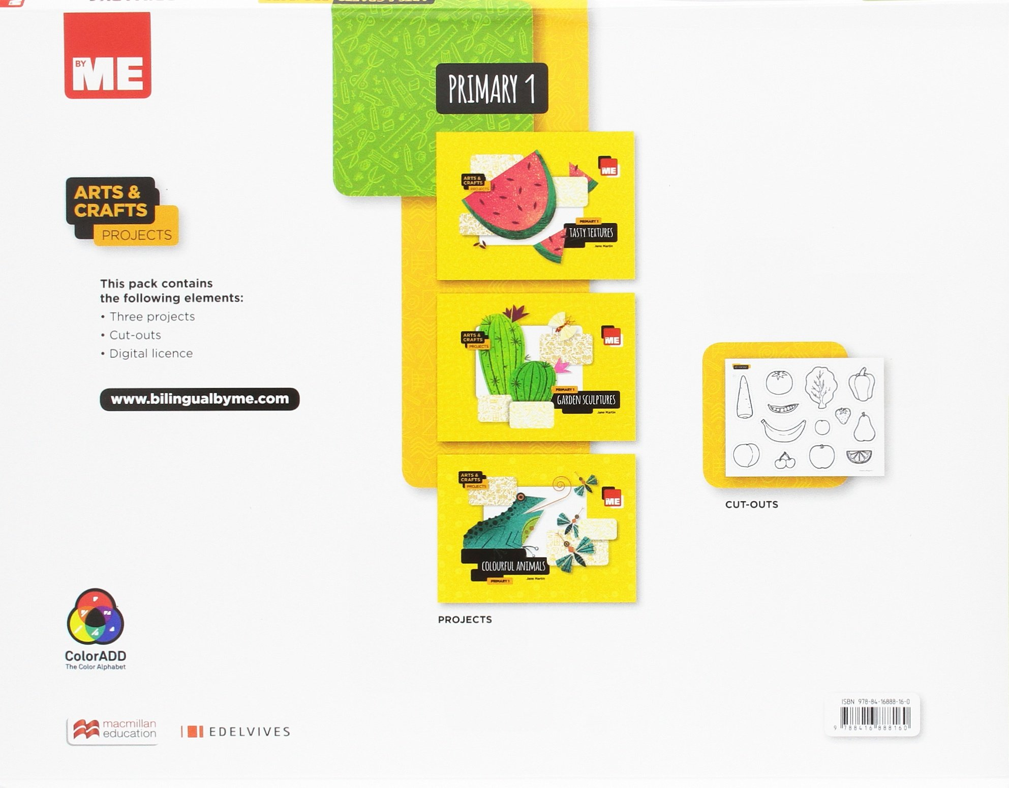 Arts and Crafts Projects 1º Green Pack Arts&Crafts Projects - 9788416888160: Amazon.es: Martin, Jane: Libros en idiomas extranjeros