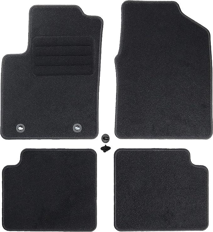 Carmat Texer Textil Fußmatten Passend Für Ford Ka Ii Bj 2008 2016 Basic Auto