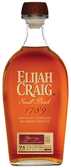 acbea32bece Image Unavailable. Image not available for. Colour  Elijah Craig Small  Batch Bourbon Whiskey ...
