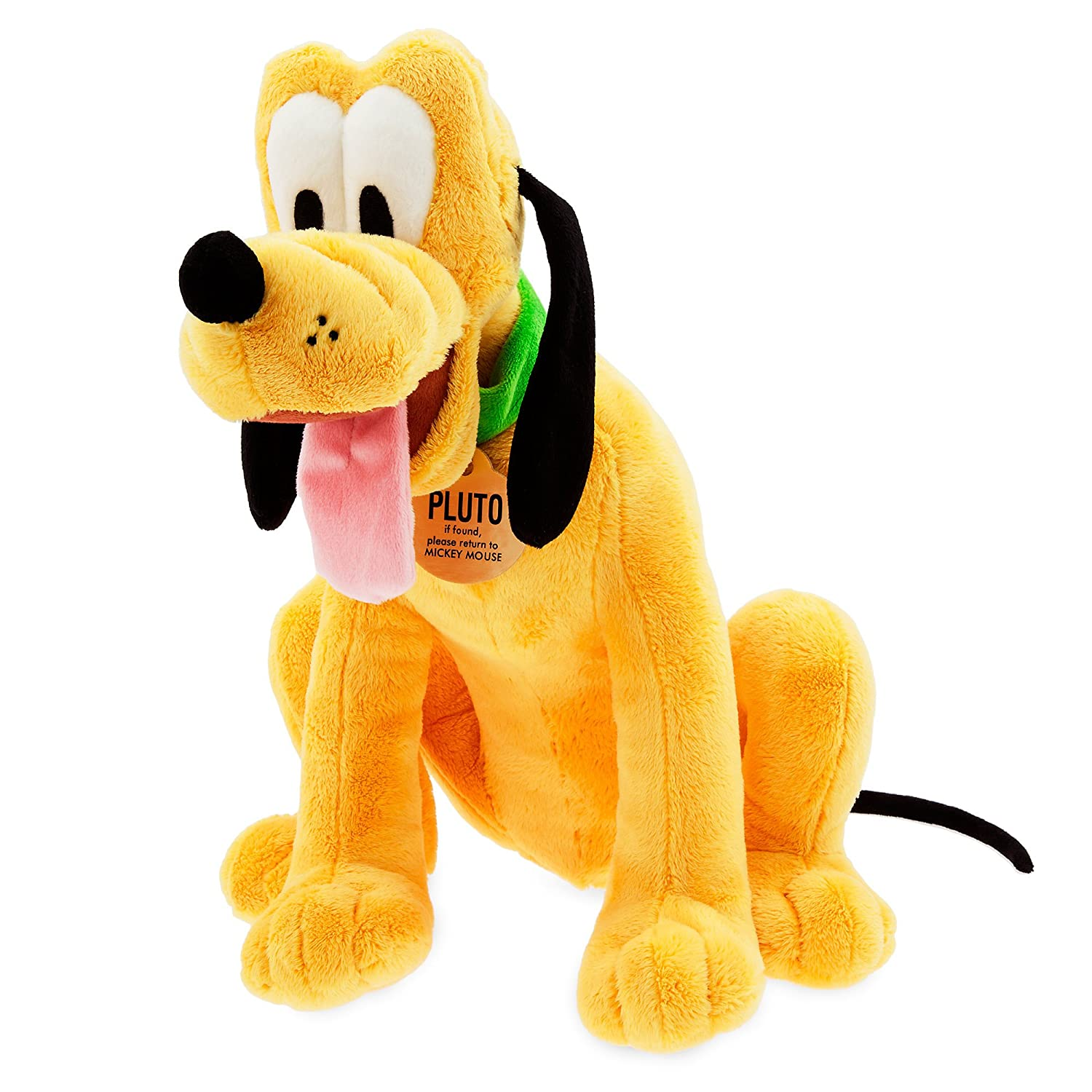 Disney Pluto Plush Medium 15 1 2 inch
