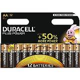 Duracell Plus Power AA Batterie Alcaline, confezione da 12