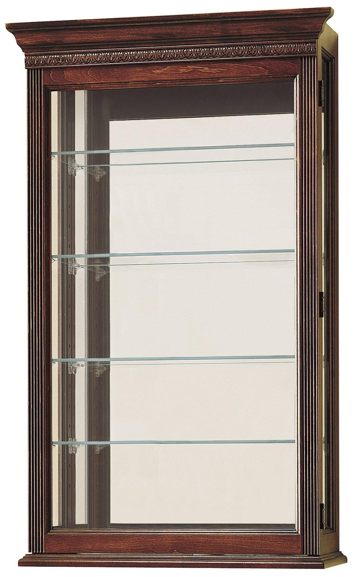 Howard Miller 685-104 Edmonton Curio Cabinet by