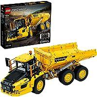 LEGO 42114 Technic Volvo 6x6 Truck met Kieptrailer Truckpeelgoed RC Auto, Bouwvoertuigen Verzamelmodel voor Volwassenen