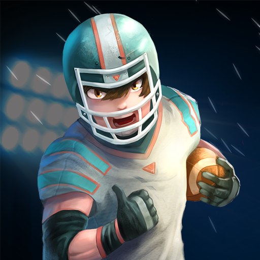 Touch Football Player - League Star Football