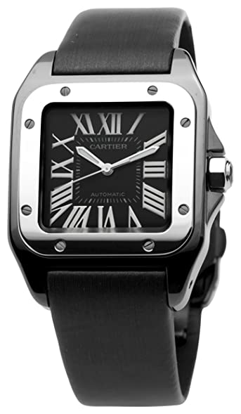 cartier menu0027s w2020008 santos 100 medium watch
