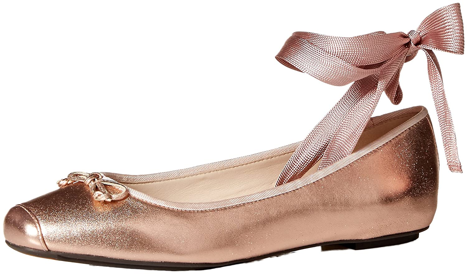 Cole Haan Women's Downtown Ballet Flat B073SPSH9L 7.5 B(M) US|Rose Gold