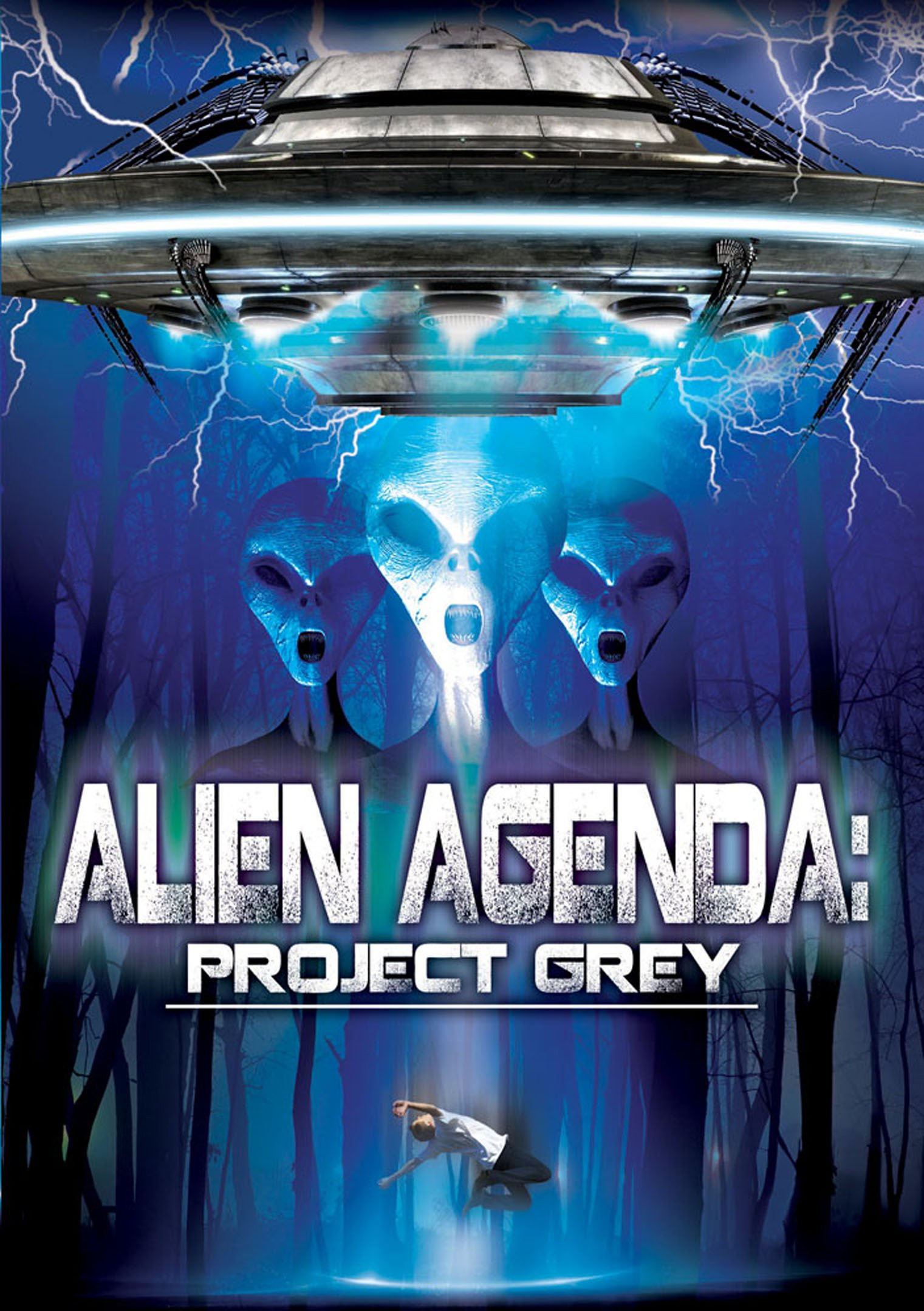 DVD : Christian Blaze - Alien Agenda: Project Grey (DVD)