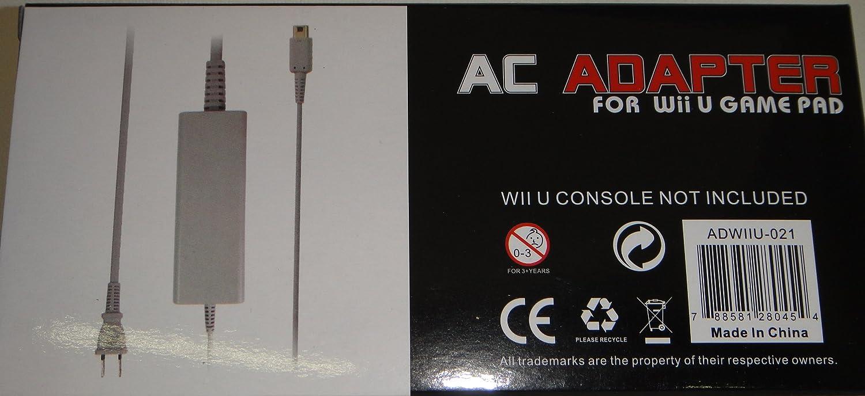 Orbital Wii U Gamepad AC Adapter 110-240V For Wii U