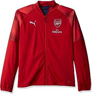 b7a43b46d66 Amazon.com  PUMA Men s Arsenal Fc 1 4 Training Top with Sponsor ...