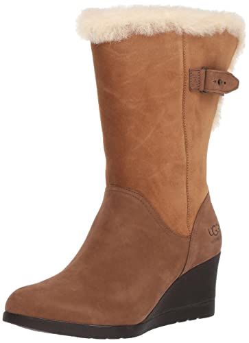UGG Women's Edelina Winter Boot, Chestnut, ...