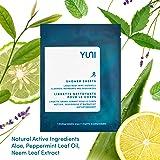 YUNI Beauty Shower Sheets, Pepperment Citrus, 12