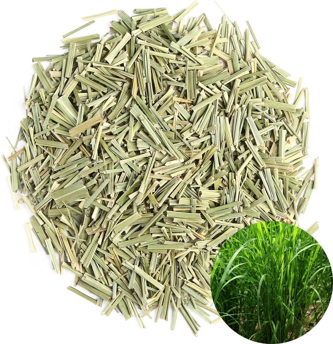 TooGet Wild Vanilla Dried Lemongrass Cut Großhandel, Natürliches Zitronengras Duftendes Kraut, Top Grade - 115g