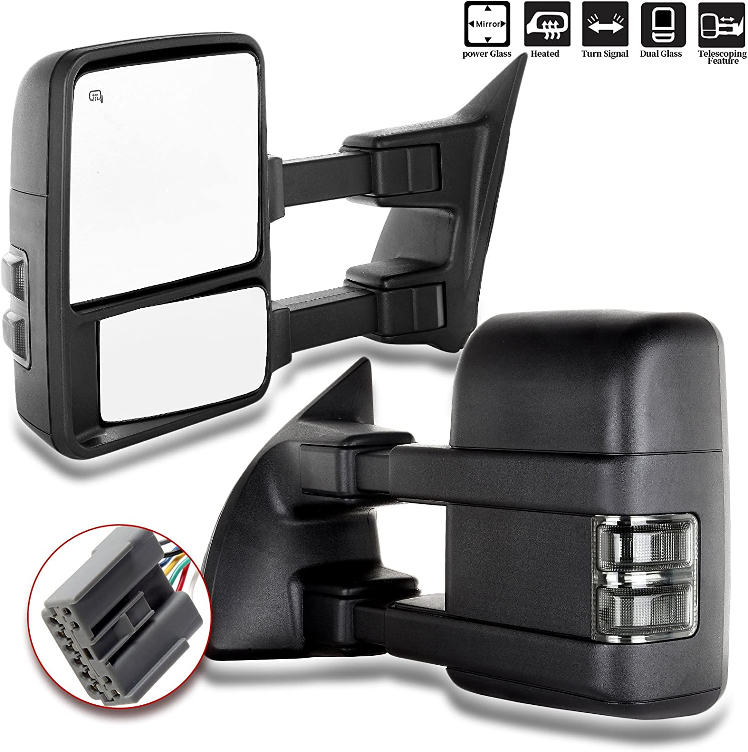 SCITOO Rear View Mirrors for ford