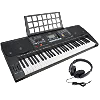 Axus Digital AXP2 Touch Sensitive Electronic Keyboard – Black