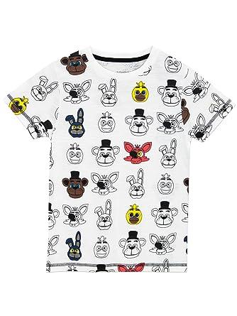 ba82bc58cd81d Five Nights at Freddys Boys T-Shirt