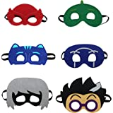 Starkma Cartonn Hero Party Favors Dress Up Costume Set of 6 Mask